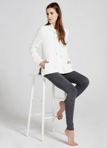 Mint Velvet Ivory Funnel Neck Sweat