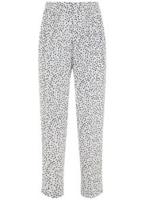 Mint Velvet Aspen Print Tapered Trouser