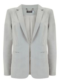Mint Velvet Chalk Easy Boyfriend Blazer
