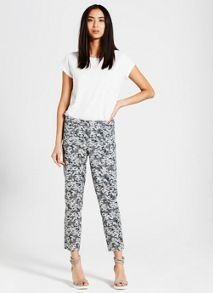 Mint Velvet Gia Print Cotton Capri