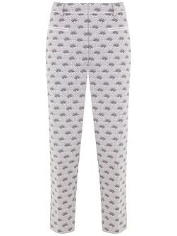 Luisa Print Cotton Capri