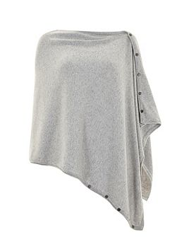 Mint Velvet Silver Grey Multi Way Scarf