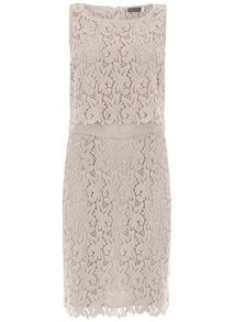 Mint Velvet Shell Lace Layer Dress