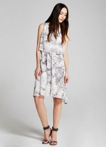 Mint Velvet Nicolette Print Layered Dress