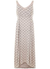 Mint Velvet Luisa Print Tie Back Maxi Dress