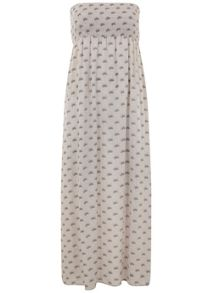 Mint Velvet Luisa Print Bandeau Maxi Dress