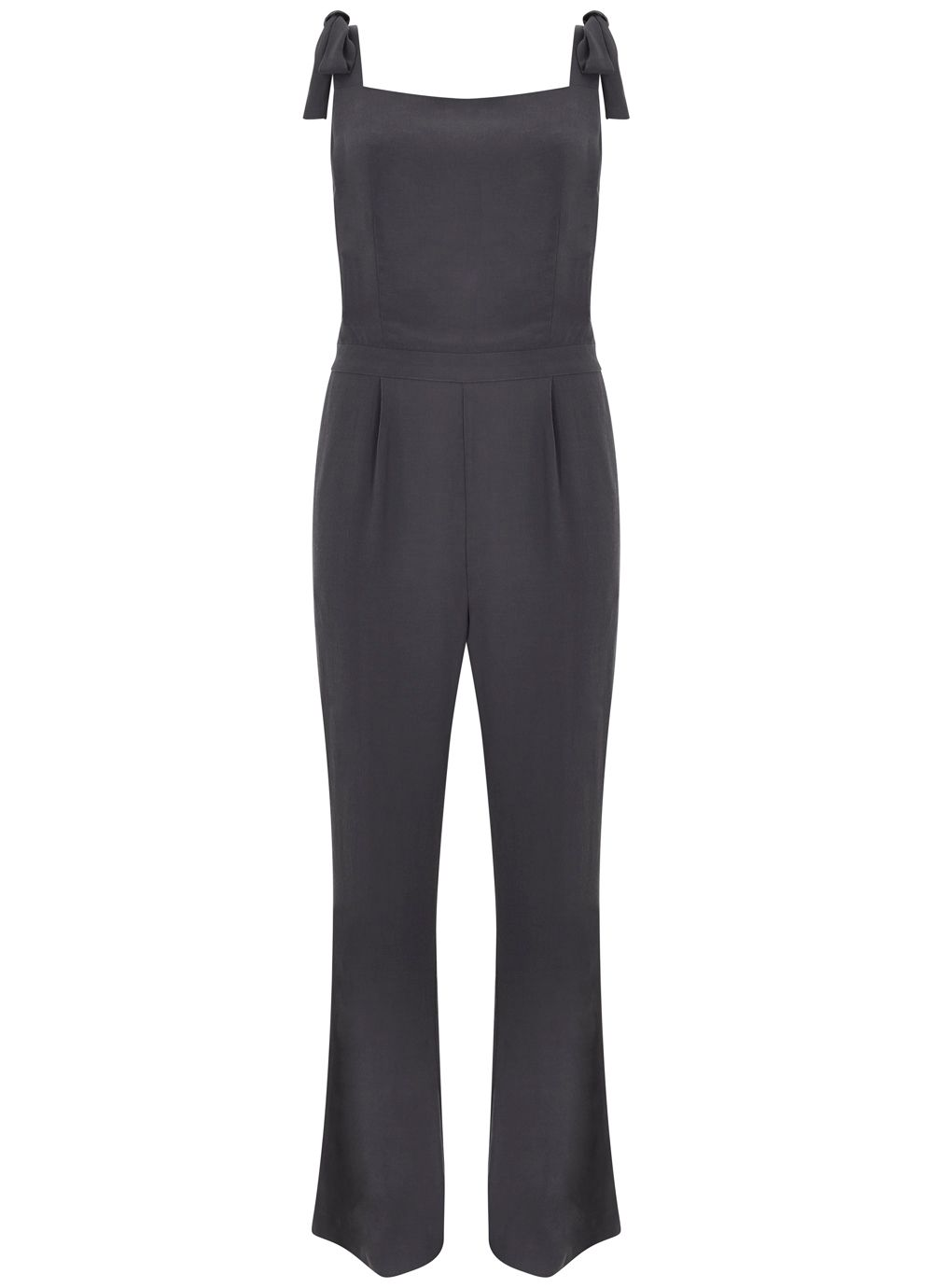 Vintage Overalls 1910s -1950s Pictures and History Mint Velvet Smoke Wide Leg Jumpsuit £39.00 AT vintagedancer.com