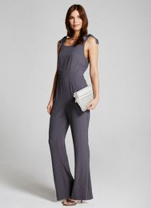 Mint Velvet Smoke Wide Leg Jumpsuit
