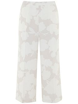 Roselyn Print Crop Trouser