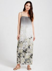 Mint Velvet Summer Print Column Maxi Dress