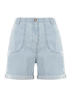 Washed Blue Easy Short