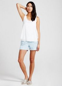 Mint Velvet Washed Blue Easy Short