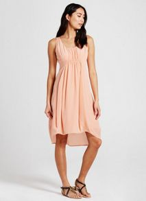 Mint Velvet Sherbet Silk Cocoon Dress