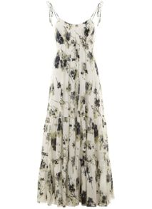 Mint Velvet Elle Print Trapeze Maxi Dress