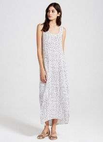 Mint Velvet Aspen Print Cocoon Maxi Dress
