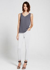 Mint Velvet Seattle Dove Skinny Crop Jean