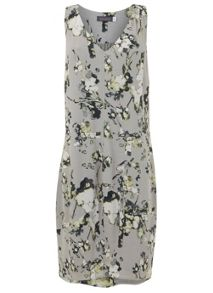Mint Velvet Ellie Print Cocoon Dress