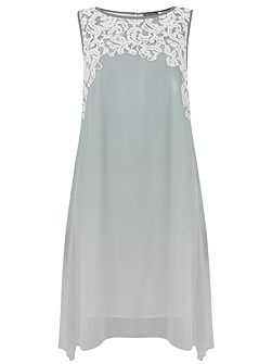 Dove & Ivory Lace Trapeze Dress