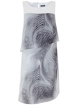 Larissa Print Layered Dress