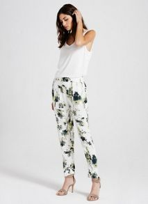 Mint Velvet Elle Print Tapered Trouser