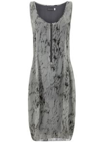 Mint Velvet Corrinne Print Cocoon Dress