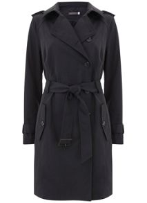 Mint Velvet Smoke Wrap Back Trench
