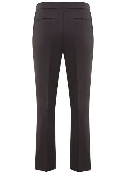 Mint Velvet Smoke Crop Kick Flare Trouser