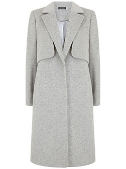 Silver Grey Relaxed Coat