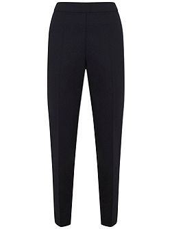 Navy High Waist Trouser