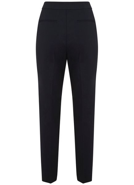 Mint Velvet Navy High Waist Trouser