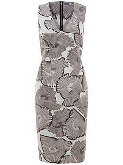 Mara Print Shift Dress