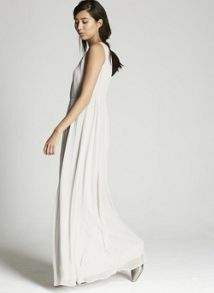 Mint Velvet Dove Chiffon Maxi Dress