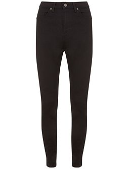 Asheville Black High Waist Skinny Jean