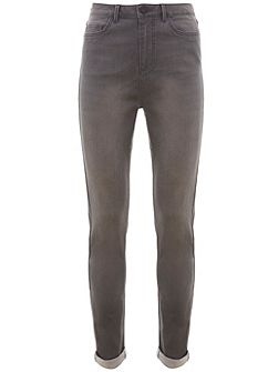 Asheville Grey High Waist Skinny Jean