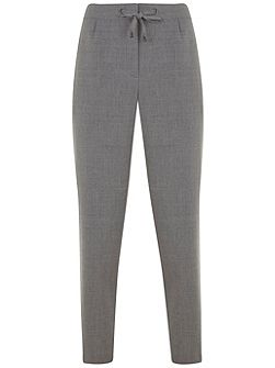 Silver Grey Flannel Sports Pant