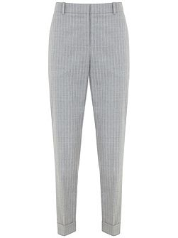 Silver Pinstripe Tailored Trouser