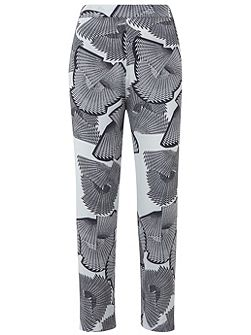 Mara Print Tapered Trouser