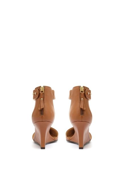 Mint Velvet Tan Elina Slim Wedge