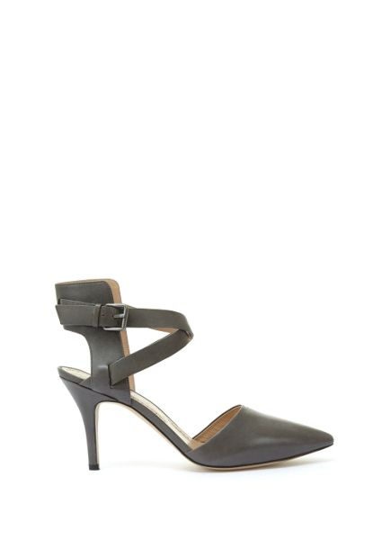 Mint Velvet Grey Aaliya Cross Strap Court