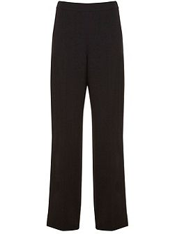 Black Formal Wide Leg Trouser