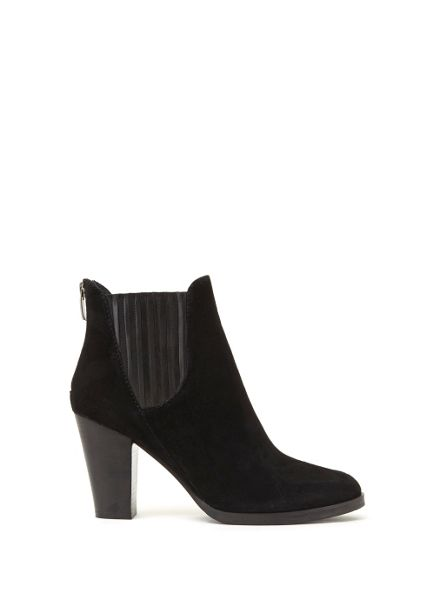 Mint Velvet Black Harri Suede Chelsea Boot