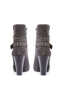 Mint Velvet Granite Simone Studded Strap Ankle Boot