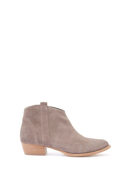Mint Velvet Taupe Claire Suede Ankle Boot