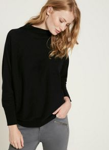 Mint Velvet Navy Batwing Knit
