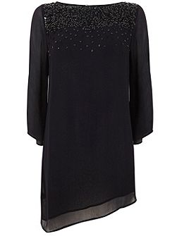 Navy Sequin Tunic