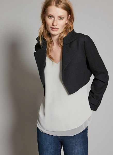 Mint Velvet Navy 3 in 1 Trench Coat