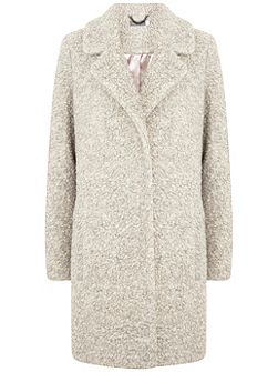 Neutral Textured Coat