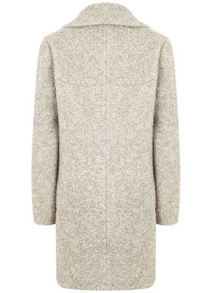 Mint Velvet Neutral Textured Coat