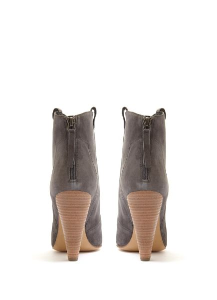 Mint Velvet Grey Camilla Pointed Cowboy Boot