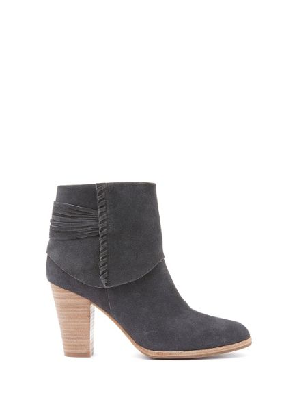Mint Velvet Granite Holly Stitch Detail Ankle Boot